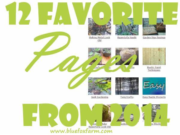 12 Favorite Pages From 2014 on Blue Fox Farm
