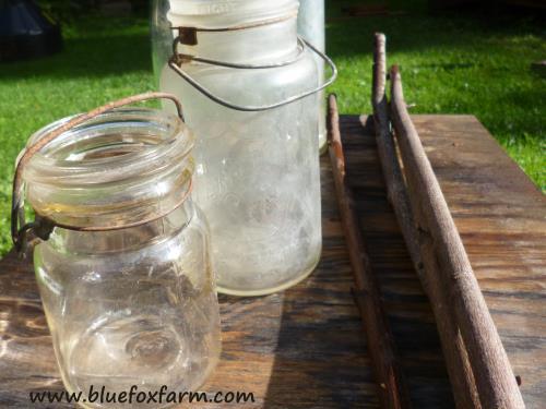 Vintage Canning Jars