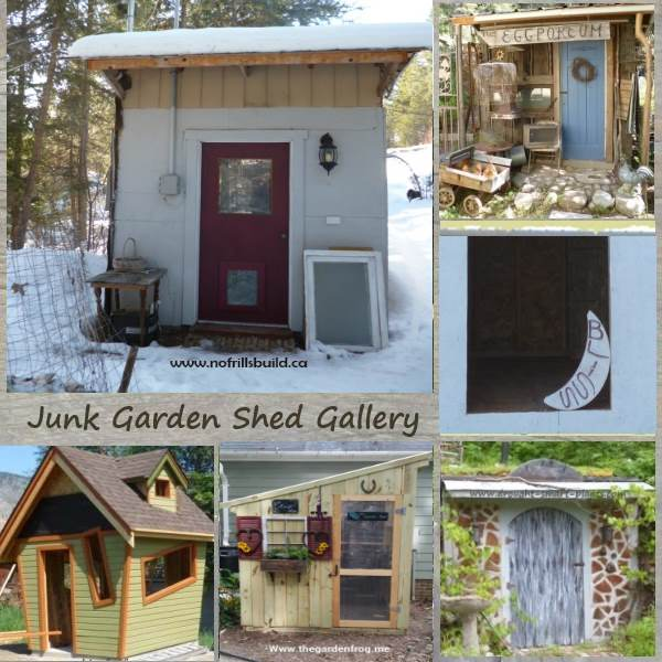 Rustic Garden Sheds from the funky to the sublime