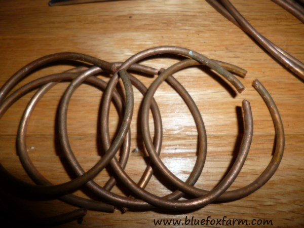 Copper Wire Curtain Rings