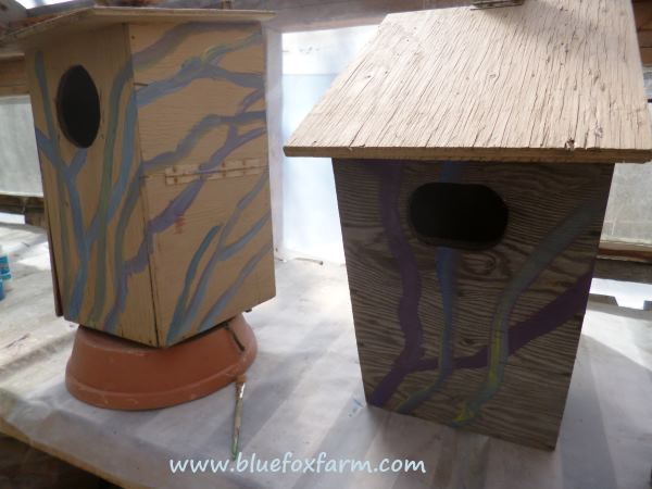 The first stage of making these nesting boxes fabulous...