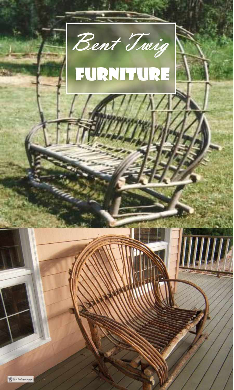 Bent Twig Furniture - classic and rustic...