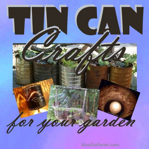 Tin Can Crafts The Epitome Of Trash To Treasure
