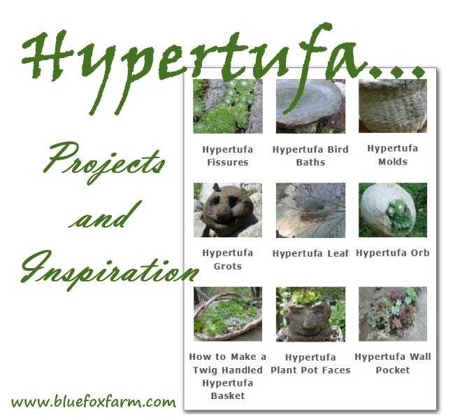 Hypertufa -  Projects & Inspiration...