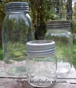 Antique Canning Jar Collectio