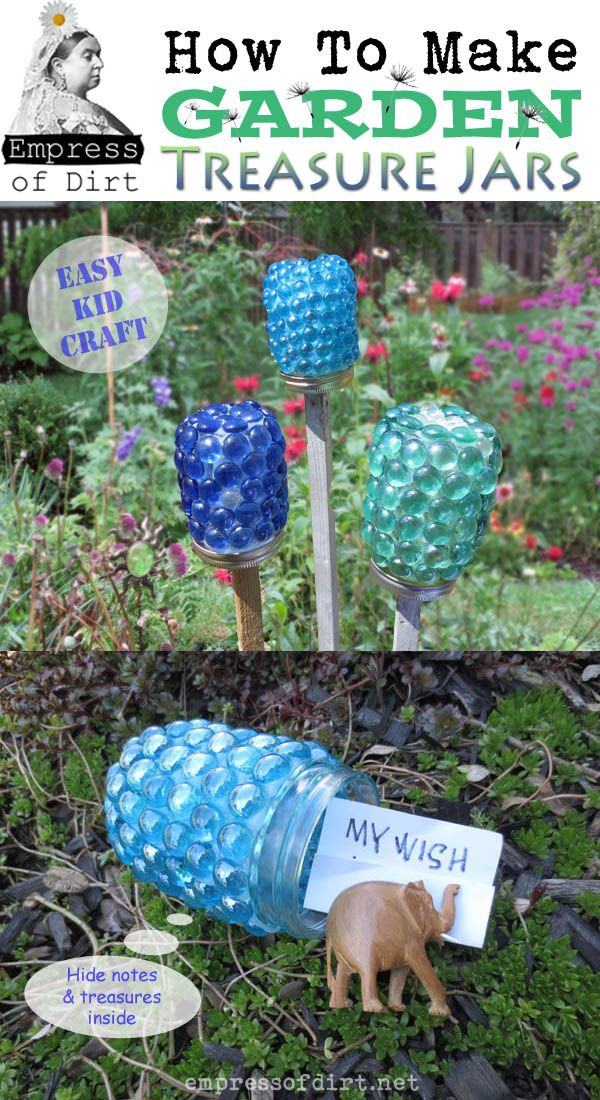 See more about a really cute craft by the Empress of Dirt...