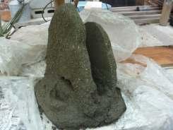 A fissure under construction...