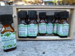 ...and essential oils and tinctures