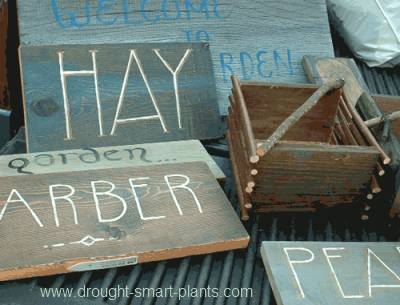 Rustic Garden Signs Are Everywhere... Assorted Finished Signs