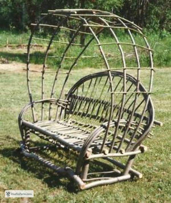 Twig Arbor Seat