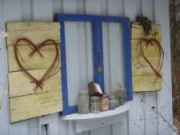 Vintage Windows make great crafts