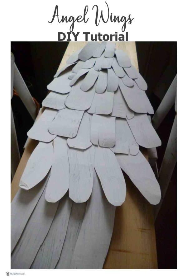 Angel Wings DIY Tutorial
