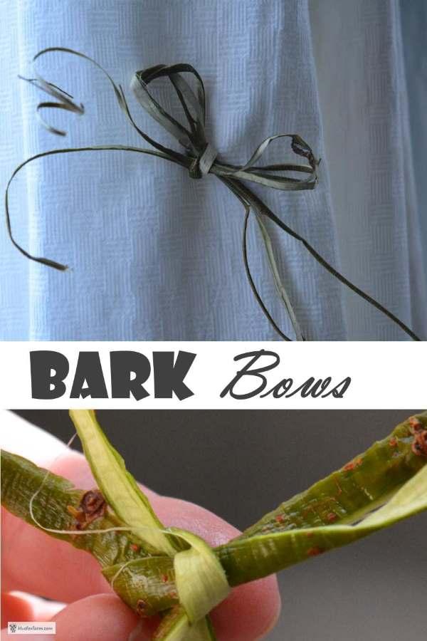 Bark Bows