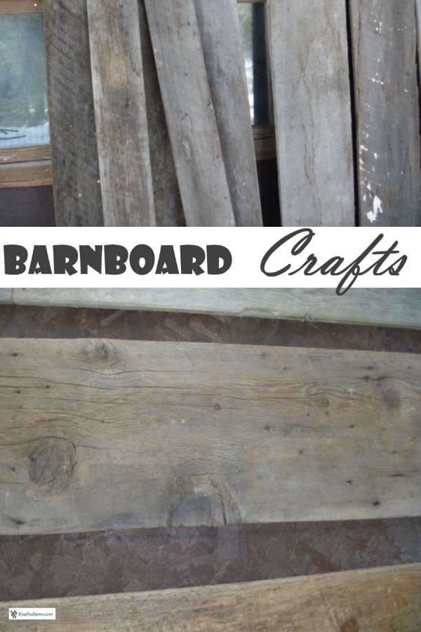 Barnboard Crafts