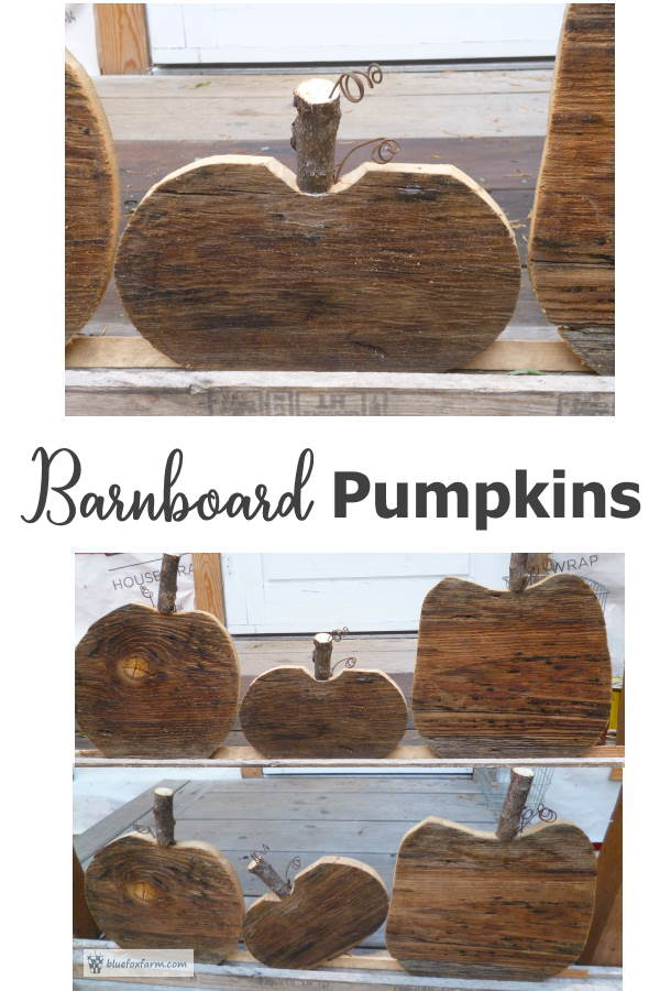 Barnboard Pumpkins