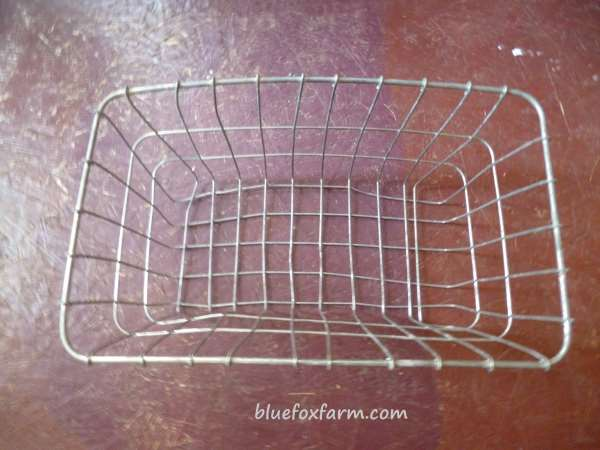 Bicycle Baskets are curved to fit a bike