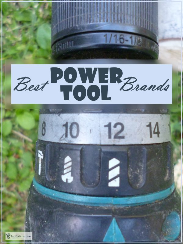 Best Power Tool Brands