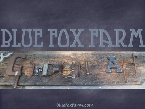 Blue Fox Farm Garden Art