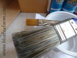 ...brushes almost as much