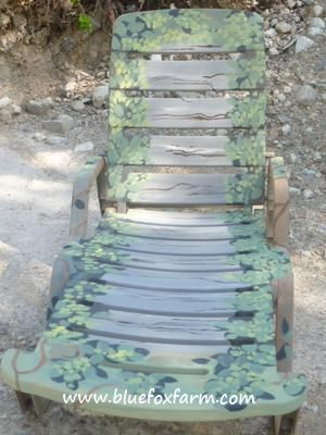 The Camouflage Chaise