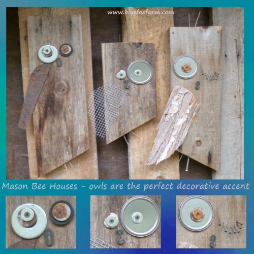 Find out more about Mason Bee Houses...