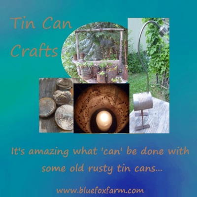 Tin Can Crafts - the ultimate upcycling...