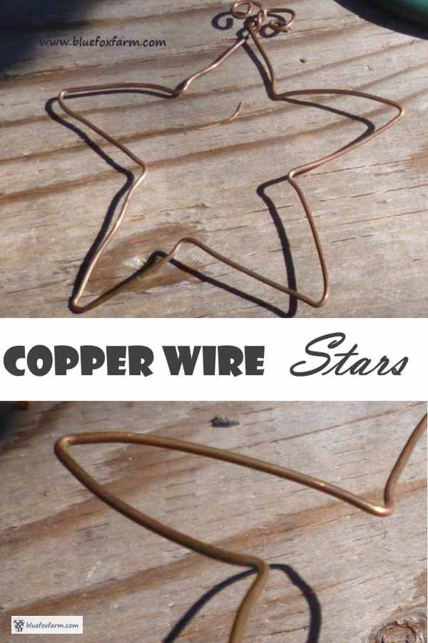 Copper Wire Stars