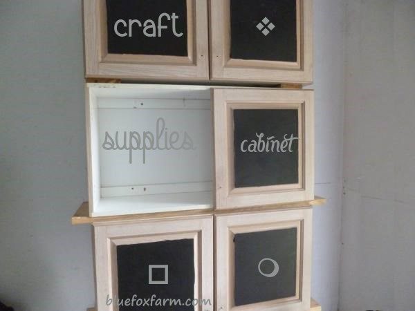 Craft Supplies Cabinet