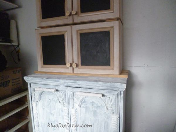 From Sad Armoire to Fab, Shabby Pie Safe