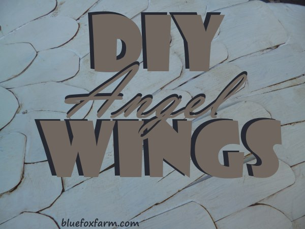 Angel Wings DIY project