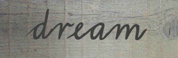 Dream Garden Sign