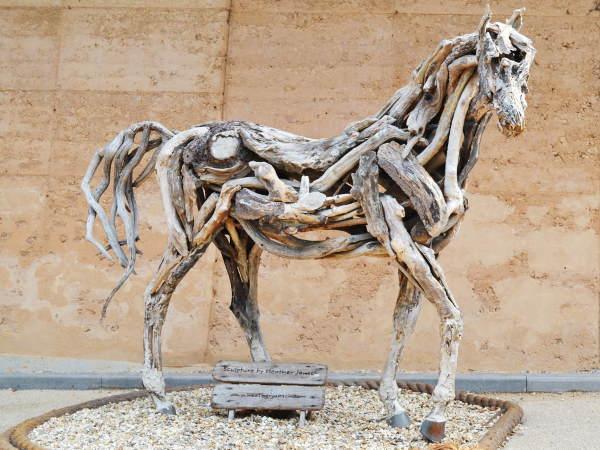 Driftwood Horse by Heather Jansch