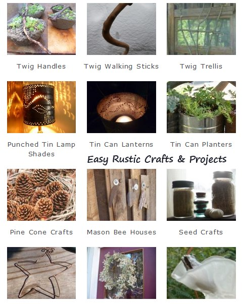 Easy Rustic Crafts