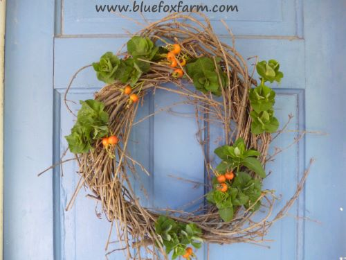Twiggy Autumn  Wreath