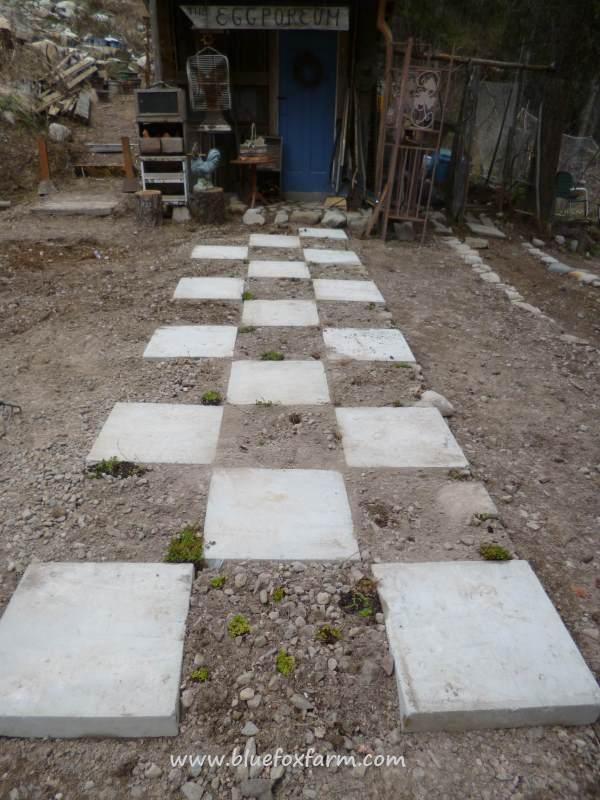 Using the placement of the Eggporeum for the basis for the pavers was a stroke of genius