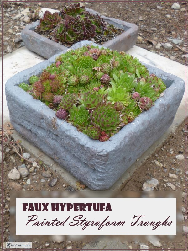 Faux Hypertufa?  How is that possible?
