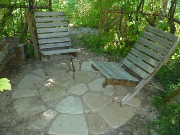 Folding Cedar Chairs