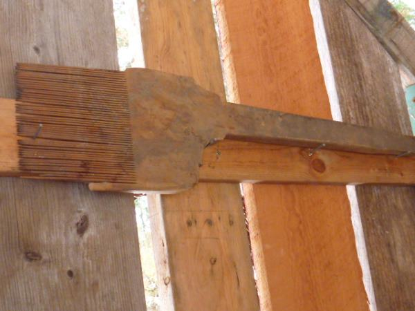 Wooden Bread Lifter