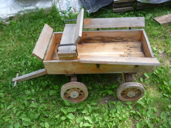 Handmade Wooden Wagon