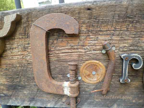 A'C' clamp makes a perfect 'G'