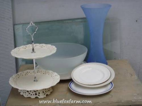 Lovely dishes and crystal vases - how to use them?