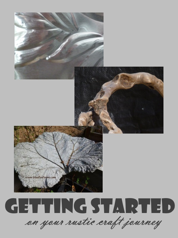 Getting Started on your rustic craft journey