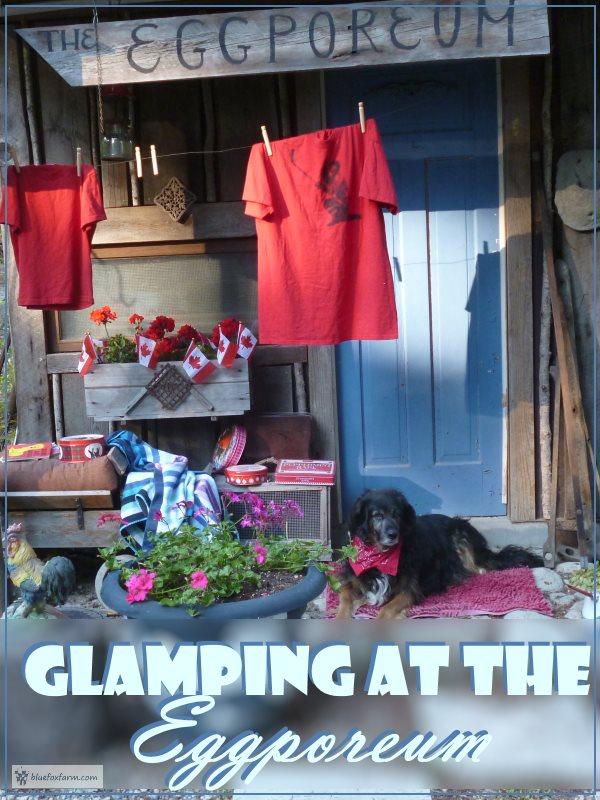 Glamping at the Eggporeum