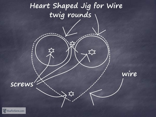 How to Make a Quick Wire Heart Shaping Jig and create your own hearts...