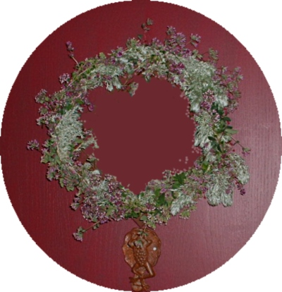 See more about an Herbal Wreath...