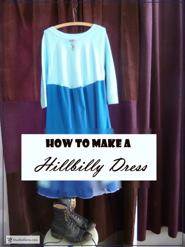 How to Make a Hillbilly Dress