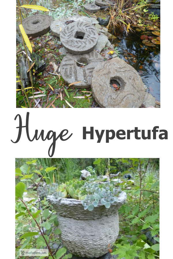 Huge Hypertufa - oversized projects