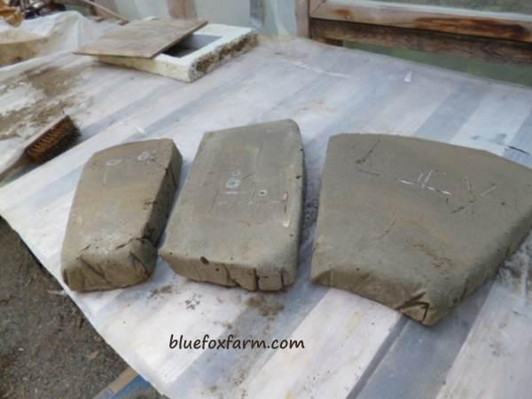 Hypertufa Pet Grave Markers