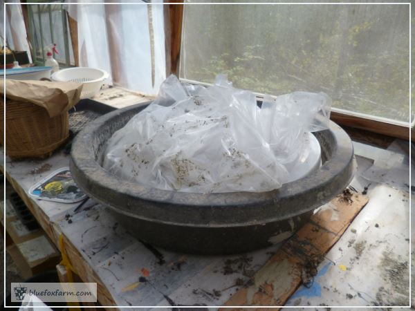 Pond Liner Mold for Hypertufa Millstones