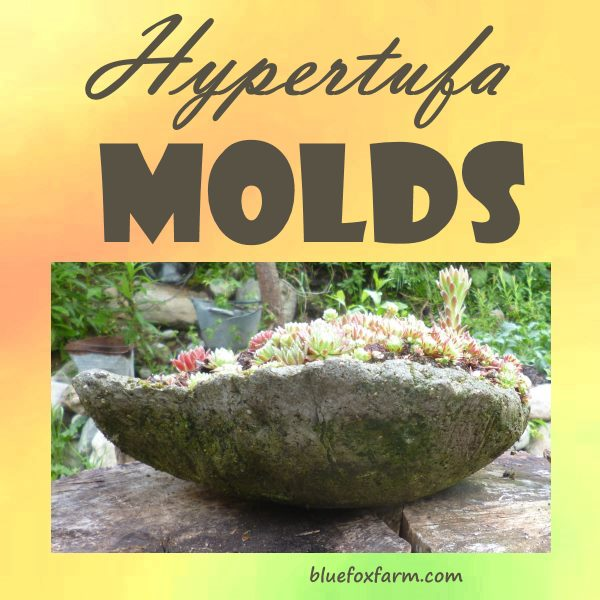 Hypertufa Molds Almost Anything Can Be Used To Make A